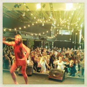 Jenny på ADS' Workshop på Stockholms Kuturfestival 2013Kulturhuset -Lava