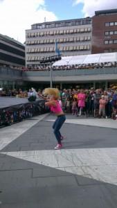 "Olivia på ADS' Doundounba""Plattan"" Stockholms Kulturfestival 2013"